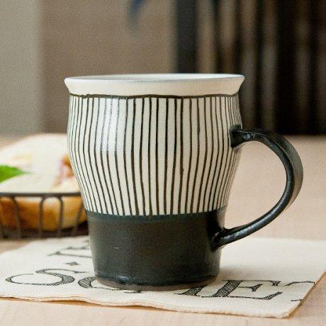鉄十草マグカップ