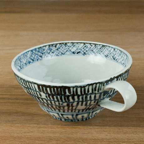 石垣紋スープカップ