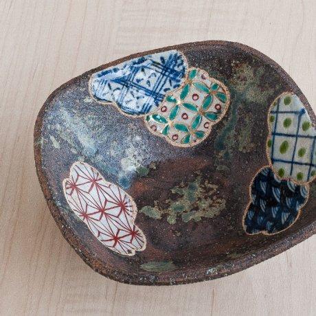 梅地文6寸角鉢