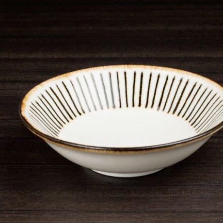 白磁サビ十草小鉢