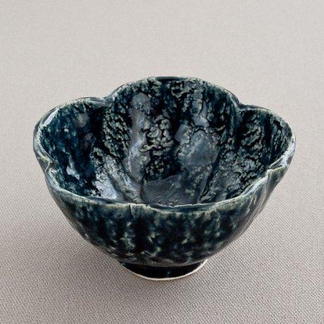 ルリ花形小鉢