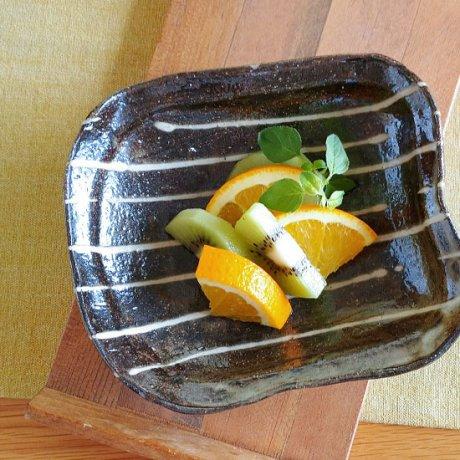 イッチン四方小鉢