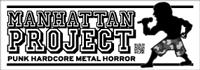 バンド、映画Tシャツ、スタッズベルト - マンハッタンプロジェクト
