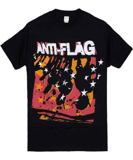 アンタイ フラッグ ( Anti-Flag ) Police Line Sのみ バンドTシャツカラー:ブラック<br>サイズ:S<br>バンドロゴに、警察の影のデザインです。