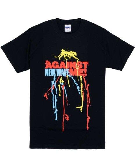 アゲインスト ミー ( Against Me! ) New Wave バンドTシャツカラー:ブラック<br>サイズ:S<br>2007年の発売アルバムのイメージデザインです。