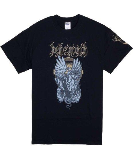 ベヒーモス ( Behemoth ) O Father O Satan O Sun バンドTシャツカラー:ブラック<br>サイズ:M,L<br>袖にもプリントの入ったデザインです。