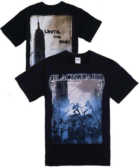 ブラックガード ( Blackguard ) Until The End バンドTシャツカラー:ブラック<br>サイズ:M,L<br>2010年のUNTIL THE ENDのツアーのデザインです。