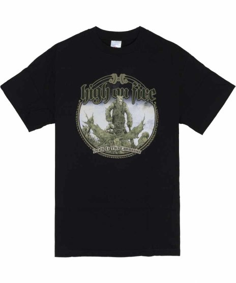 High On Fire Death Is This Communion バンドTシャツ