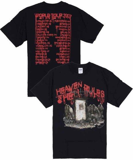 Heaven And Hell 2007ワールドツアーバンドTシャツカラー:ブラック<br>サイズ:M,L<br>2007年のツアーTシャツのデザインです。