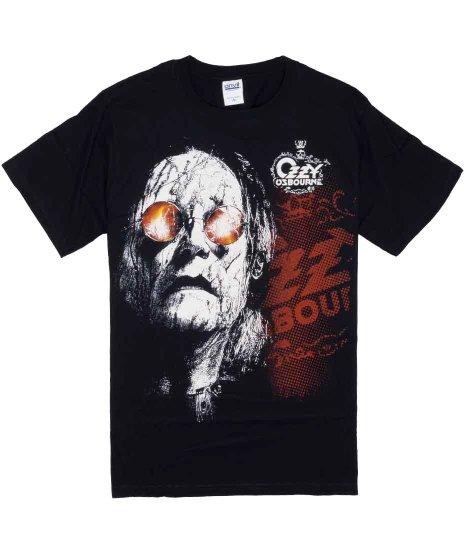 オジー オズボーン Black Rain バンドTシャツカラー:ブラック<br>サイズ:S<br>ブラックレインアルバムアートのデザインです。