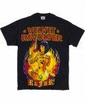 ヴェルヴェット リヴォルバー ( Velvet Revolver ) Tattoo Girl バンドTシャツカラー:ブラック<br>サイズ:S〜L<br>Tatooの女性のデザインです。