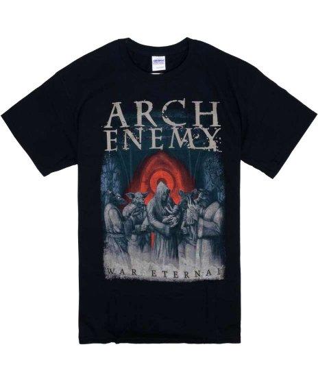 アーチ エネミー ( Arch Enemy ) War Eternal バンドTシャツカラー:ブラック<br>サイズ:S〜L<br>War Eternalのジャケットのデザインです