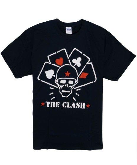 クラッシュ ( The Clash ) Straight To Hell Lのみ バンドTシャツカラー:ブラック<br>サイズ:S〜L<br>Straight To Hellのジャケットのデザインです