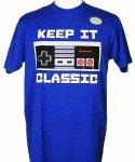 ニンテンドー ( Nintendo ) Keep It Classic メンズTシャツ