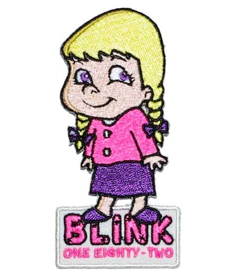 Blink182 バンドワッペン Little Girl