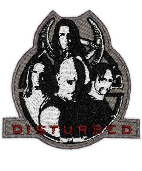 Disturbed バンドワッペン Music Within