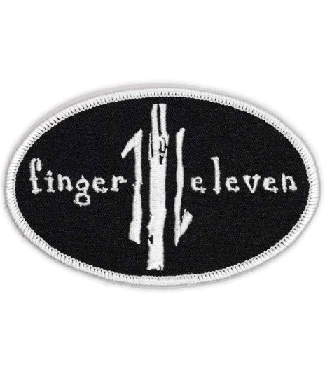 Finger Eleven バンドワッペン Oval Logo