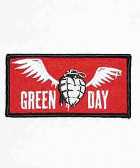 Green Day バンドワッペン White Wings