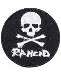 ランシド ( Rancid ) バンドワッペン Skull