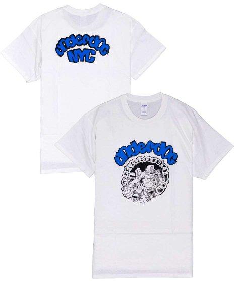アンダードッグ ( Underdog ) Nyc バンドTシャツカラー:ホワイト<br>サイズ:S〜L<br>1stアルバムのアートワークのデザインです