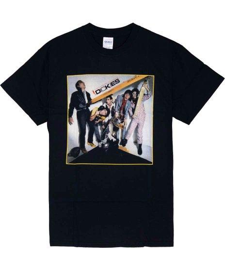 ディッキーズ ( The Dickies ) The Incredible Shrinking バンドTシャツカラー:ブラック<br>サイズ:S〜L<br>1stアルバムのジャケットデザインです