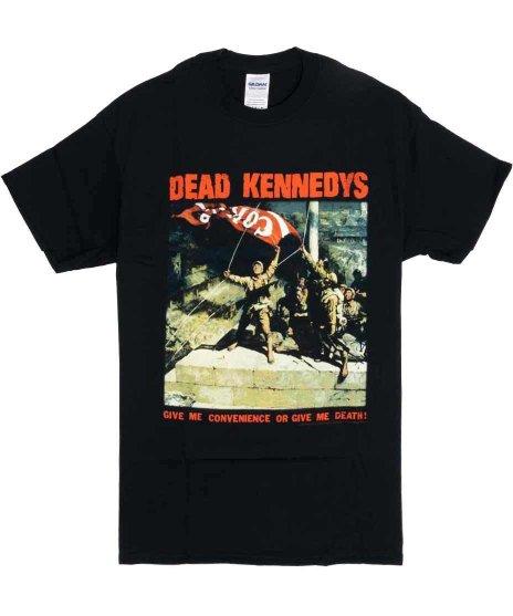デッド ケネディーズ ( Dead Kennedys ) Give Me Convenience バンドTシャツカラー:ブラック<br>サイズ:S〜L<br>Give me convenienceのバックジャケットのデザインです