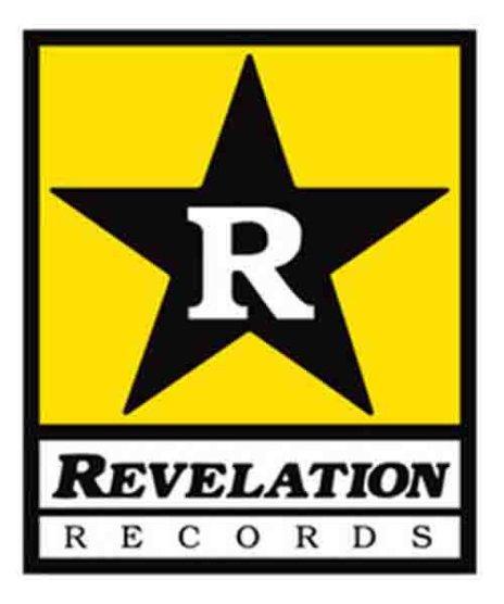 Revelation Records  バンドステッカー ロゴ ( Large ) カラー:イエロー<br>サイズ:15x19cm<br>レヴェレーションレコードのロゴ特大ステッカー