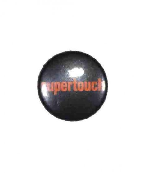 Supertouch バンド缶バッチ Logo ( Orange ) カラー:ブラック・オレンジ<br>サイズ:2.54cm<br>ブラックベースにオレンジベースのバンドロゴ缶バッジ