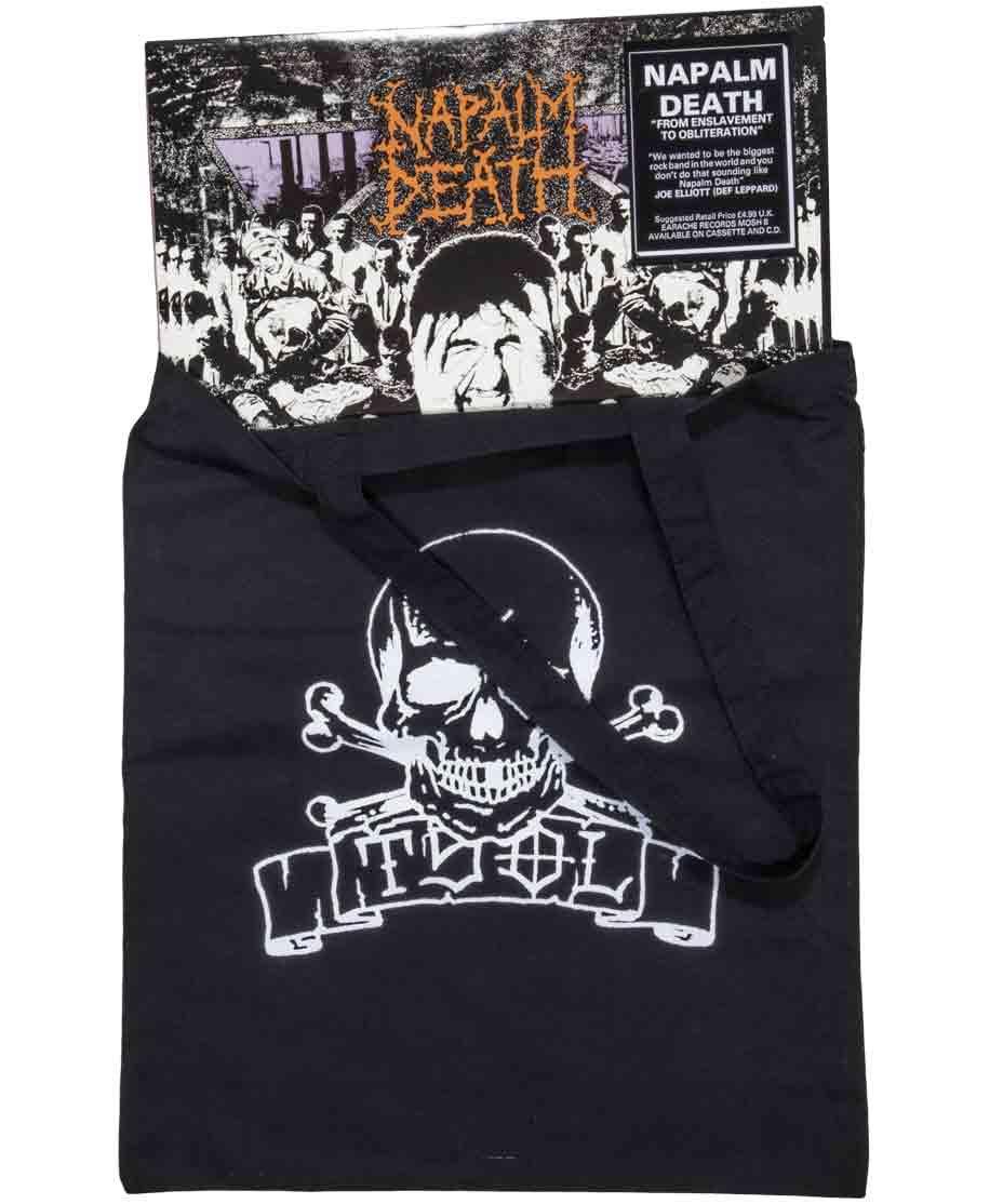 Tsol Skull Banner トートバッグ