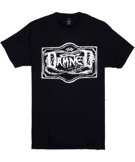 ダムド ( The Damned ) Chiswick Singles バンドTシャツカラー:ブラック<br>サイズ:S〜XL<br>チズウィックシングルズのジャケットのデザイン