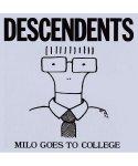 ディセンデンツ ( Descendents ) バンドステッカー Milo Goes To Collegeカラー:ブルー<br>サイズ:10×11cm