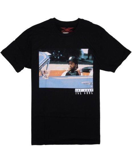 アイス キューブ ( Ice Cube ) インパラ2 バンドTシャツカラー:ブラック<br>サイズ:M〜XL<br>Ice Cube ( アイス キューブ)とインパラの写真をプリント