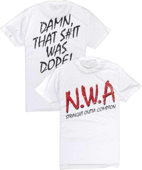 NWA ヴィンテージロゴ バンドTシャツカラー:ホワイト、グレー<br>サイズ:M〜XL<br>クラシックNWAロゴデザイン