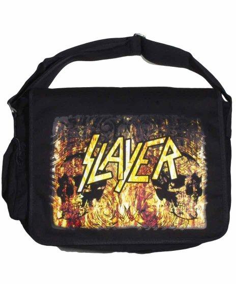 Slayer(スレイヤー)ショルダーバックカラー:ブラック<br>サイズ:37x28x10cm<br>Slayerのオフィシャルショルダーバック