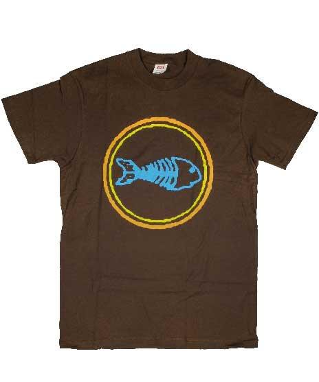 フィッシュボーン ( Fishbone ) Circle Fish Backward バンドTシャツ