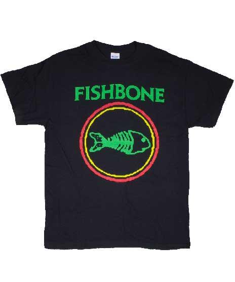 フィッシュボーン ( Fishbone ) ロゴ バンドTシャツ