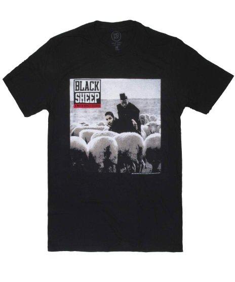 ブラック シープ ( Black Sheep ) A Wolf In Sheep'S Clothing バンドTシャツカラー:ブラック<br>サイズ:M〜XL<br>デビューアルバムのジャケットデザイン