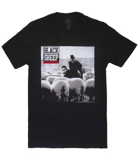 Black Sheep オフィシャルバンドTシャツ A Wolf In Sheep'S Clothing カラー:ブラック<br>サイズ:M〜XL<br>デビューアルバムのジャケットデザイン
