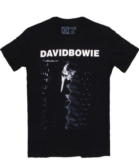 デヴィッド ボウイ ( David Bowie ) Station To Station バンドTシャツカラー:ブラック<br>サイズ:S〜L<br>アルバムSTATION TO STATIONのデザイン。