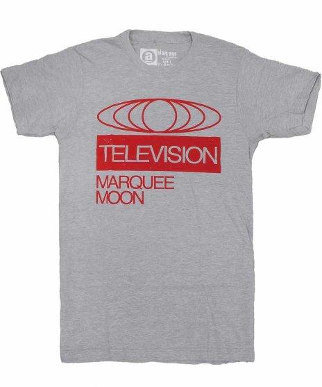 テレヴィジョン ( Television ) Marquee Moon Glove バンドTシャツカラー:グレー<br>サイズ:S〜L<br>MARQUEE MOONの球体デザイン