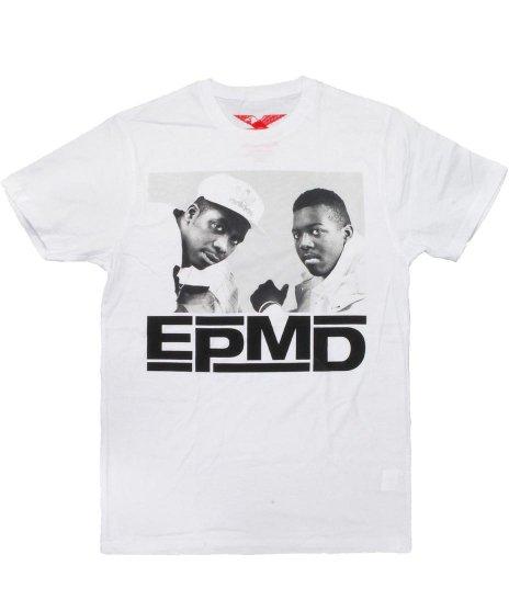 Epmd The Beginning バンドTシャツカラー:ホワイト<br>サイズ:M〜XL<br>エリック×パリッシュフォト