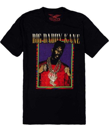 Big Daddy Kane Half Steppin オフィシャルバンドTシャツカラー:ブラック<br>サイズ:M,L,XL<br>ケインの大きいプリント