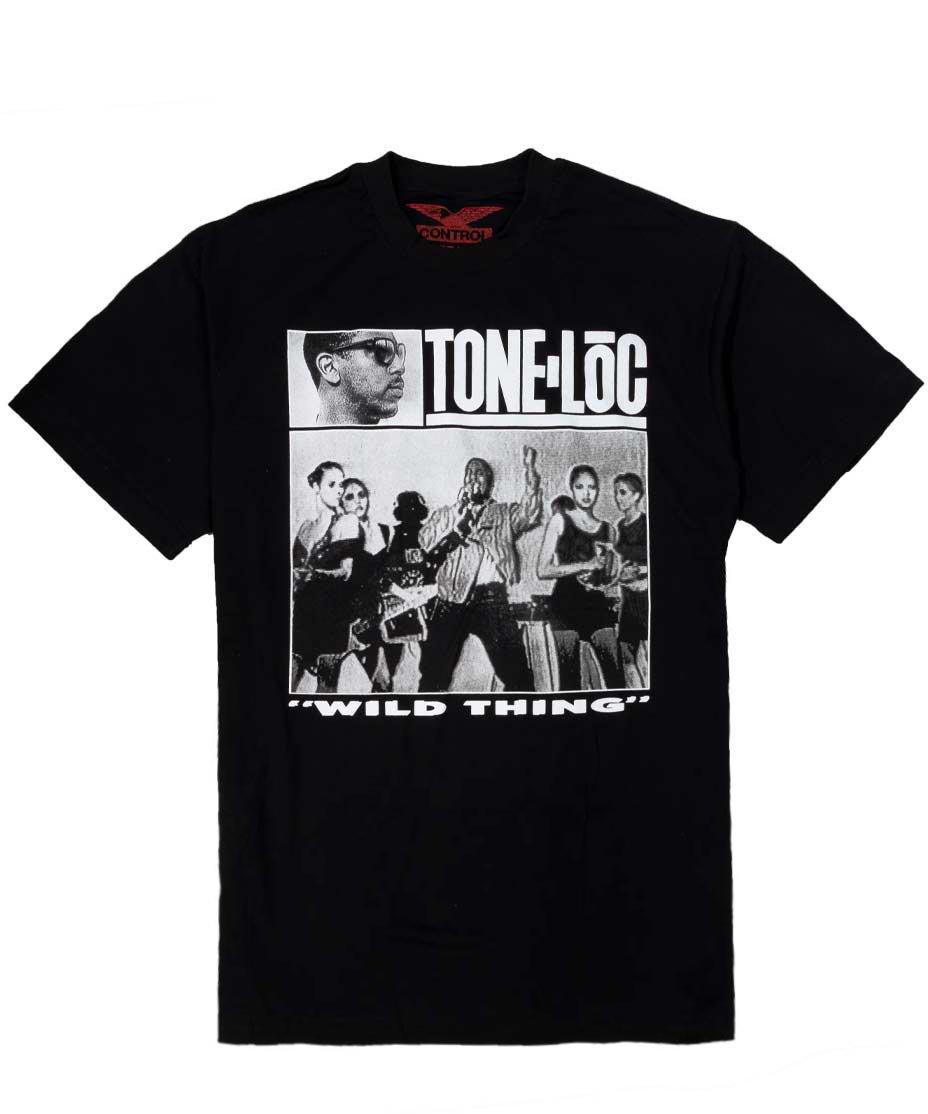 Tone Loc オフィシャルバンドTシャツ Wild Thing 【Black】