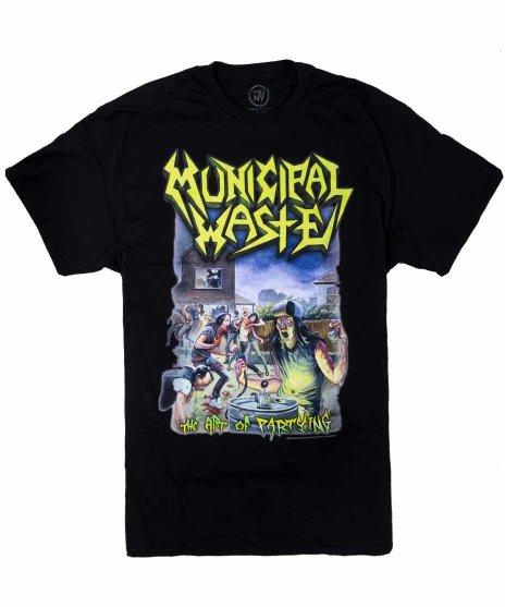 ミュニシパル ウェイスト ( Municipal Waste ) The Art Of Partying オフィシャルバンドTシャツカラー:ブラック<br>サイズ:S,M,L,XL<br>Party of Playingのジャケット