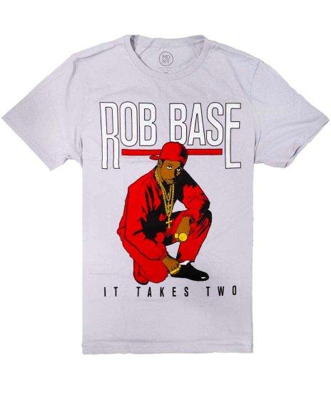 ロブ ベース ( Rob Base ) Cartoon オフィシャルバンドTシャツカラー:ブラック<br>サイズ:M,L,XL<br>ロブのアニメデザイン