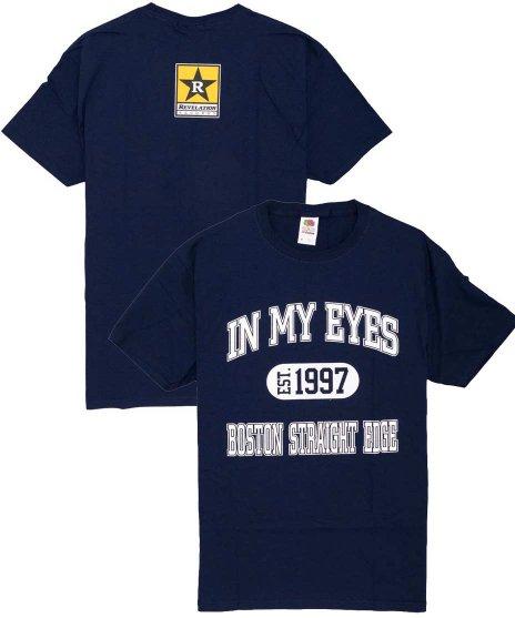 In My Eyes 1997 バンドTシャツカラー:ネイビー<br>サイズ:S〜XL