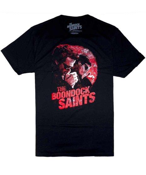 処刑人(Boondock Saints) 映画 Smoking メンズTシャツカラー:ブラック<br>サイズ:M〜XL<br>コナーとマーフィータバコのシーン。