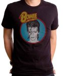 デヴィッド・ボウイ Dull Aladdin バンドTシャツカラー:ブラック<br>サイズ:S〜L<br>アラジン・セインのレトログラフィックデザインです。