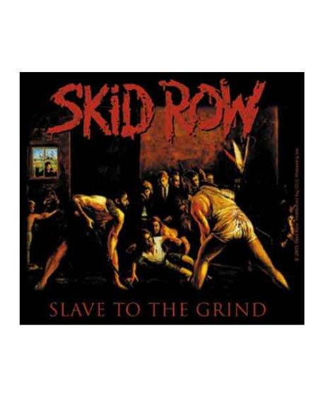 Skid Row (スキッド・ロウ) バンドステッカー Slave to the Grindサイズ:11.2 × 10.2cm<br>スキッド・ロウのSlave to the Grindのデザイン