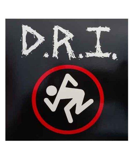 DRI バンドステッカー Skankerロゴサイズ:10.2 × 10.8cm(ちょっと横長)<br> 素材:ビニール<br>定番Skankerロゴ